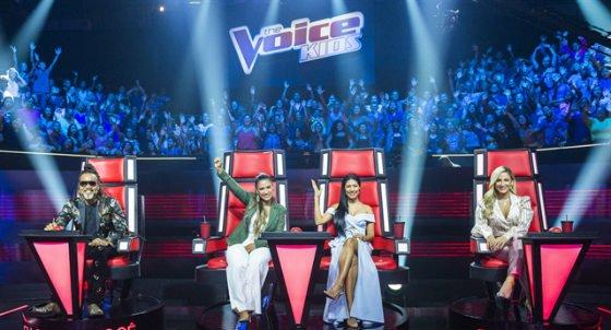 Horário do The Voice Kids domingo 08 de Abril 08-04-2018