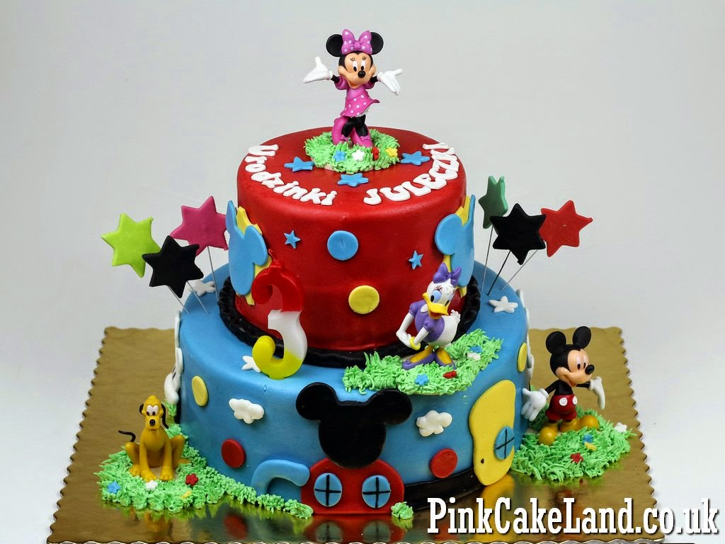 Mickey Minnie Mouse Cakes Mickey Mouse Clubhouse Cakes London
