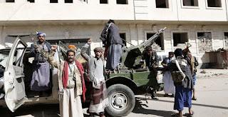 Teroris Syiah Houtsi Culik 20 Jurnalis di Ibu Kota Yaman