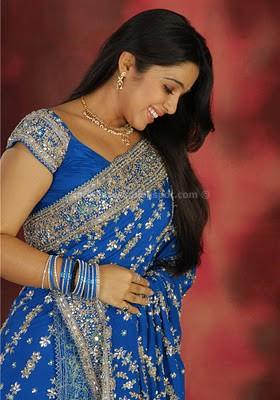 Charmi cute photos in saree