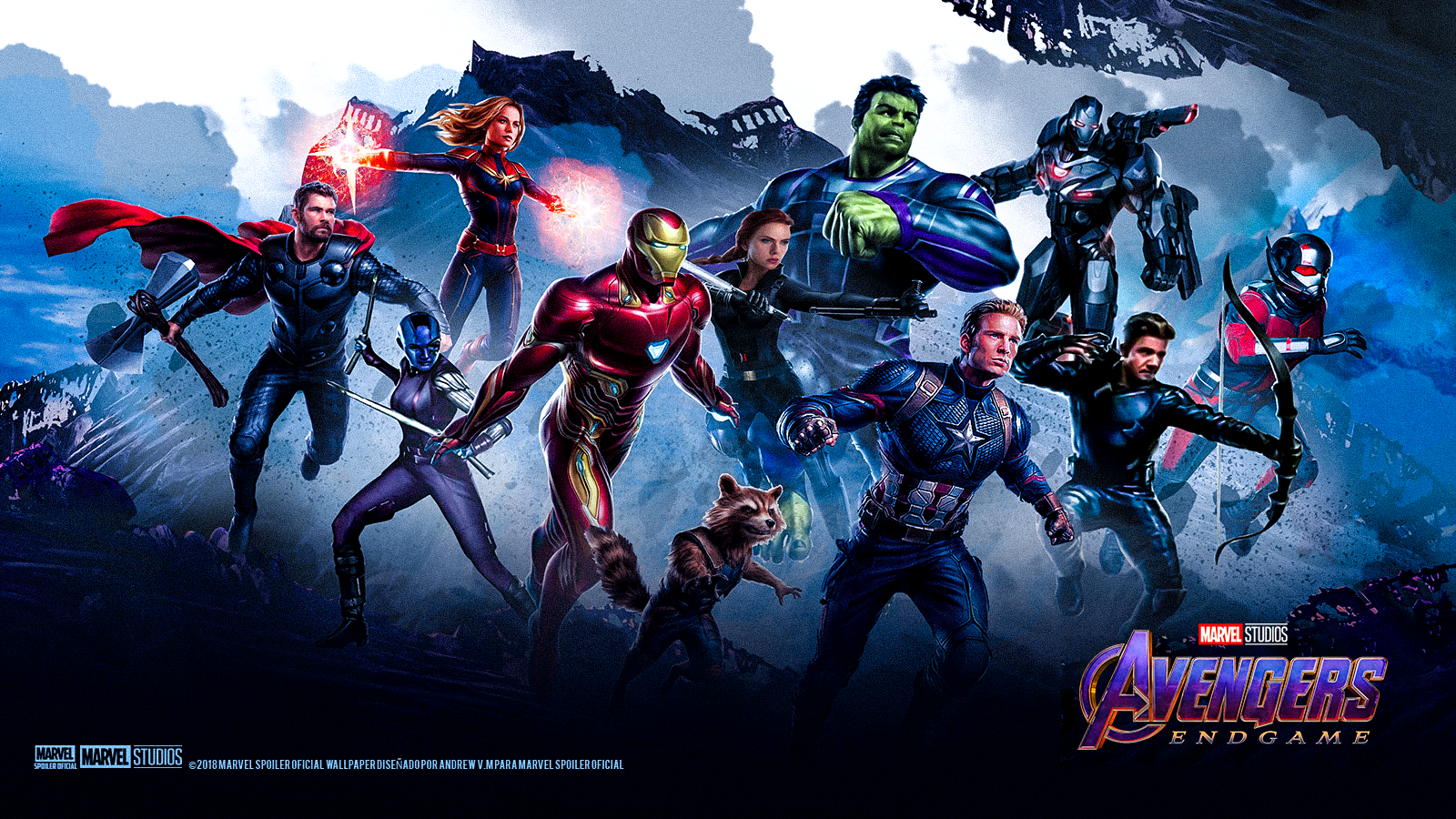 Avengers Endgame Concept Art Hd Play Movies One