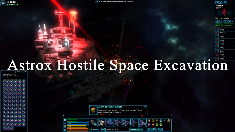 Astrox Hostile Space Excavation Download Poster