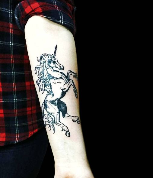 Unicorn Tattoos
