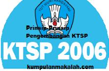 Prinsip-Prinsip Pengembangan KTSP