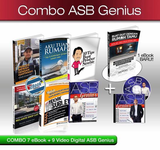 Set Combo Ebook ASB Genius & Hartanah