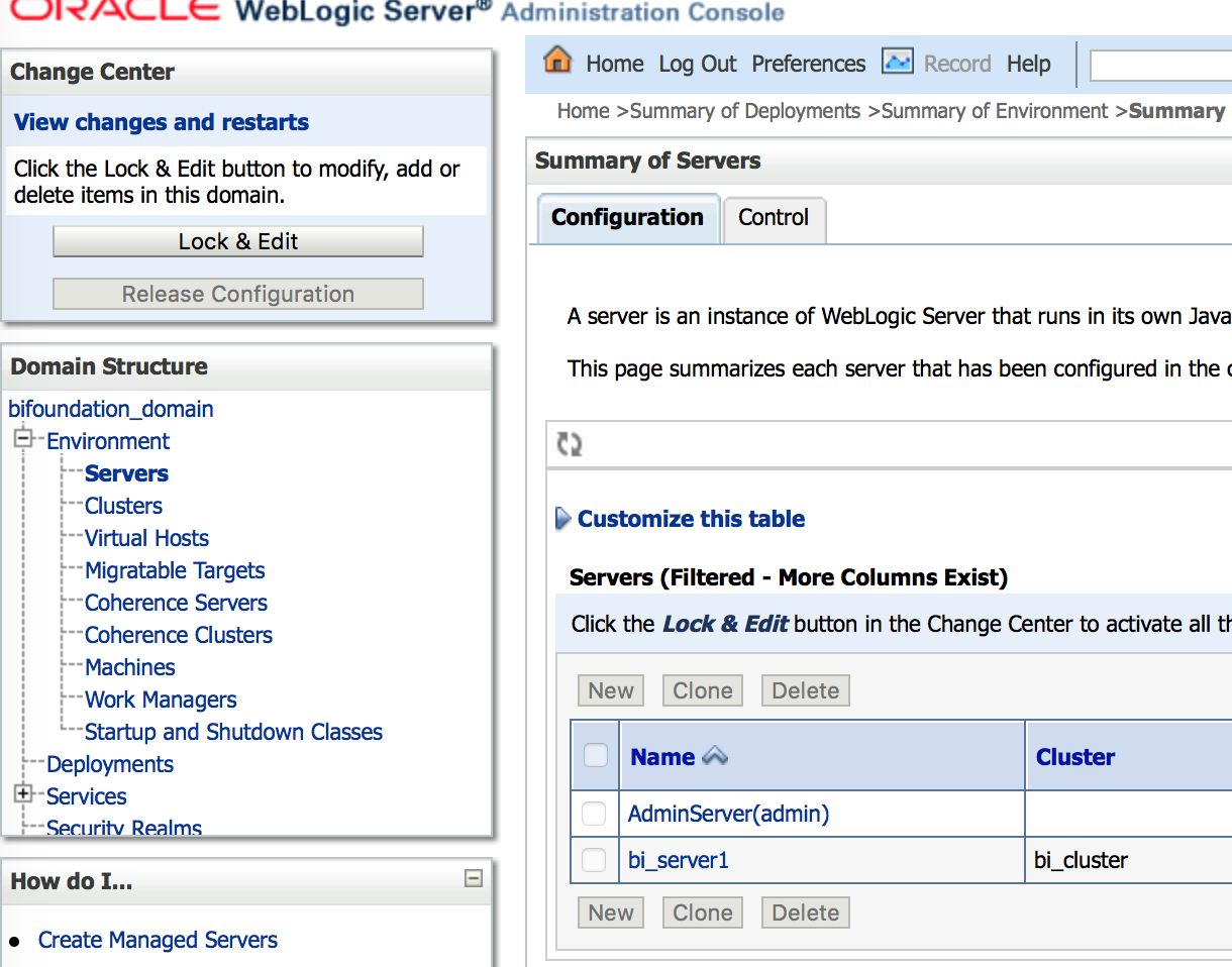 obiee 11g error 500 server error data