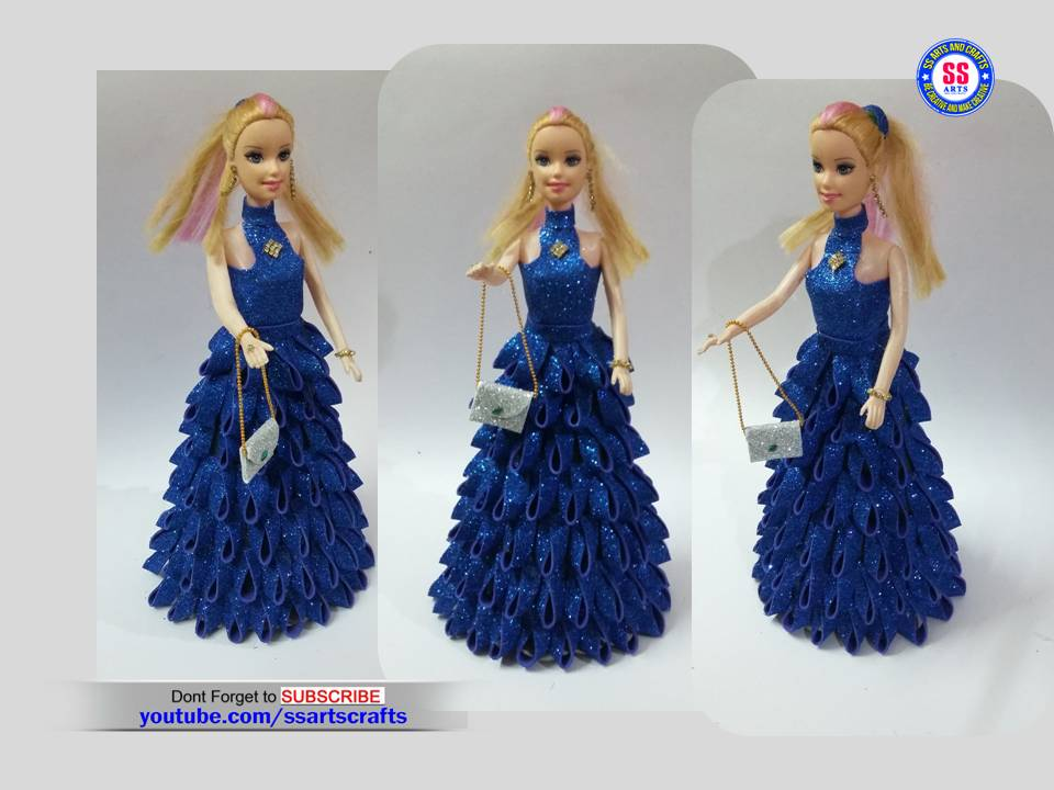 Make Doll Dress With Foam