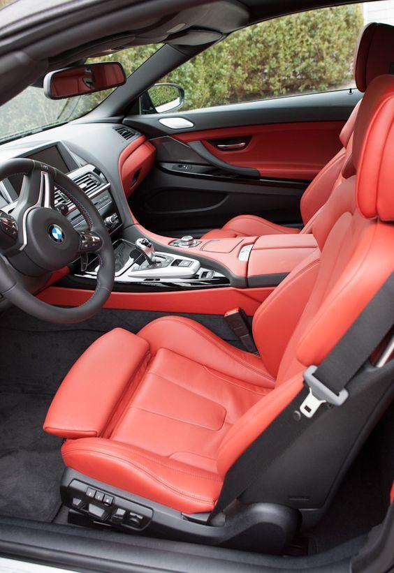 2012 BMW M6 interior