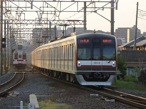 【H28.3新登場!】メトロ10000系の普通 武蔵小杉行き