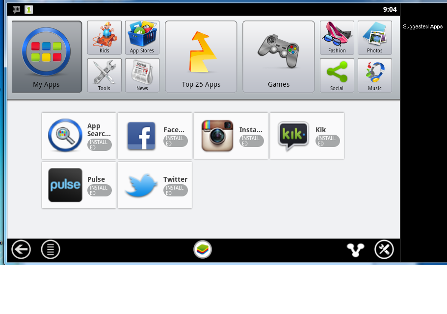 Using Bluestacks Android Phone Emulator on PC