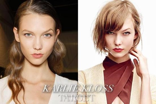 Five models of the length of hair styling, might be able to bring inspiration to you.
