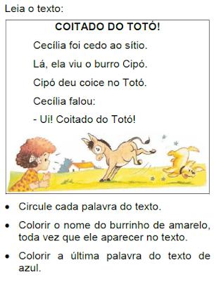 Texto COITADO DO TOTÓ!