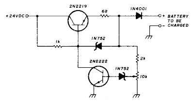 Build a 200Ma-12v ni-cad Battery Charger Circuit Diagram