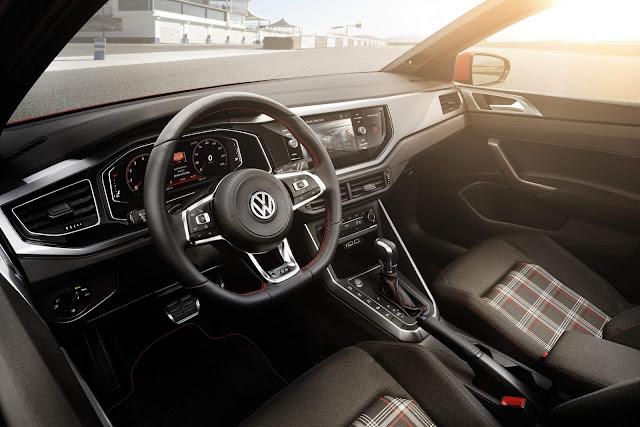 Novo VW Virtus 2018 - interior