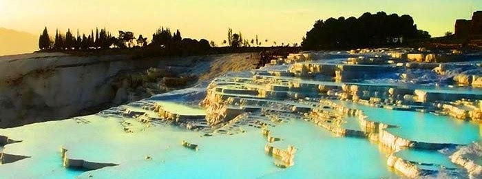 Pamukkale Thermal Pools , Turkey