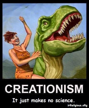 Funny Creationism Makes No Science Picture