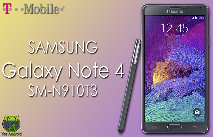 N910T3UVS3EQB1 | Galaxy Note 4 (T-Mobile) SM-N910T3