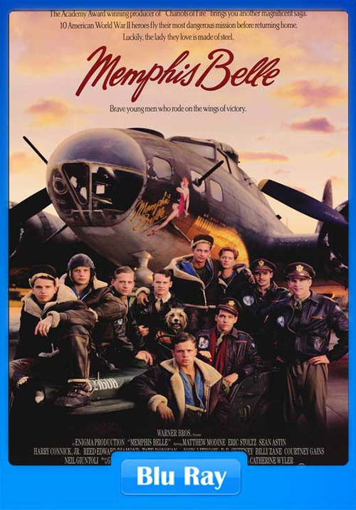 Memphis Belle 1990 720p BluRay x264 | 480p 300MB | 100MB HEVC