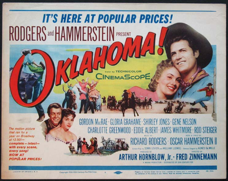 Watch additionally 18 Year Old Who Married A 71 Year Old Woman Wanders Off Mid Interview additionally 50 States In 50 Days also Oklahoma P398107 furthermore Oklahoma Sinatra With Bonus Shirley. on oscar hammerstein ii oklahoma