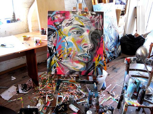 Уличный художник Дэвид Уокер (David Walker) 3