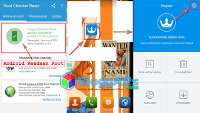 Cara Unroot Android dengan KingRoot Tahap Pertama