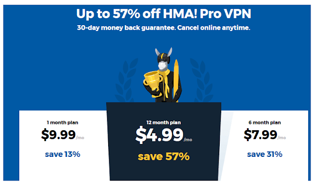 HideMyAss HMA VPN 42% Discount Coupon Code - Howali com