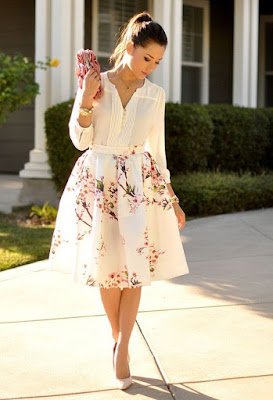 Ideas de outfits para boda de primavera