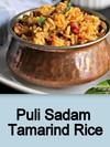 Puli Sadam,Tamarind Rice