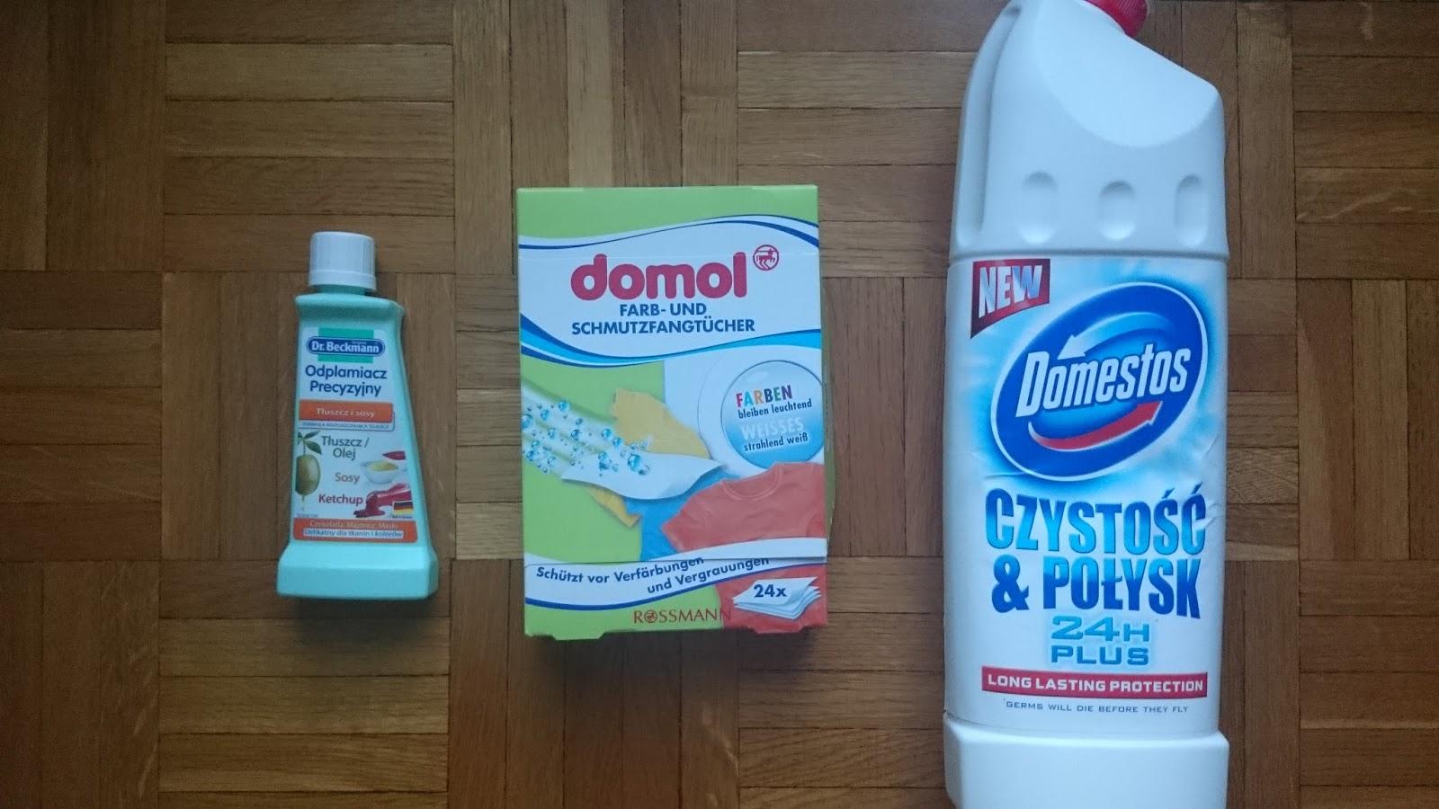 produkty do pielęgnacji domu