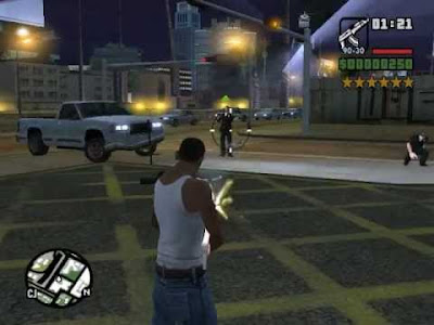 Cheat GTA San Andreas PS