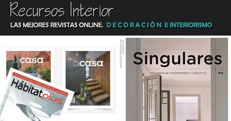Las mejores revistas online sobre dise o decoraci n y for Revistas de arquitectura online