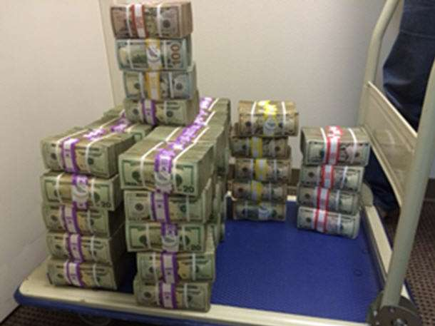 Photo: Man Caught With Over $1.2 million Hidden In Trailer