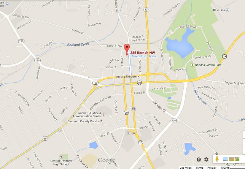 https://www.google.com/maps/place/385+Born+St+NW,+Lawrenceville,+GA+30046/@33.9570339,-83.9922827,15z/data=!4m2!3m1!1s0x88f5bef669ad10cd:0xfd9c3019749d39b1?hl=en