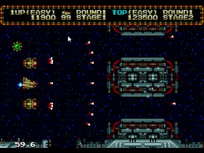 【MD】零翼戰機(Zero Wing)原版+無限生命+兩側機甲+暫停後按方向鍵換子彈Hack版!