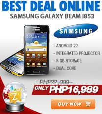 ONLINE DEAL-Samsung Galaxy Beam