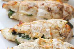 Feta And Spinach Stuffed Chicken Breast Recipe