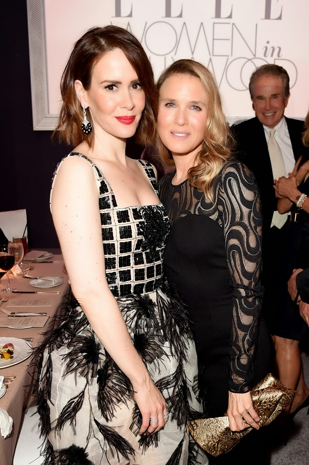 Sarah Paulson is Unsure if this is Really Renee Zellweger