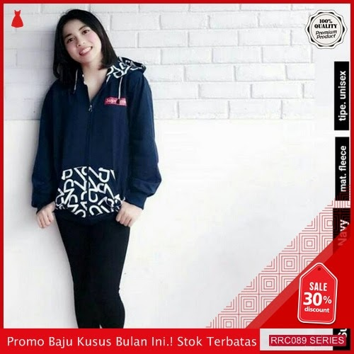 RRC089J32 Jaket Terbaru Hodie Supreme Techno Wanita Terbaru BMGShop