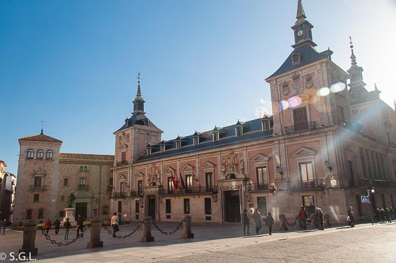 Plaza de la villa. Ruta lowcost en Madrid