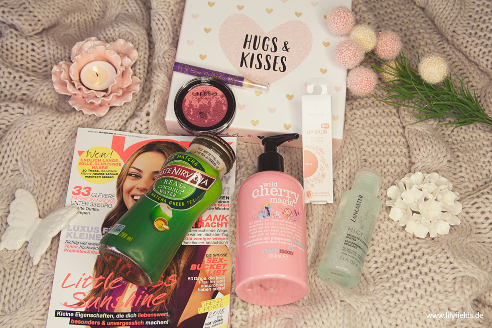 Pink Box - Hugs & Kisses Edition - unboxing