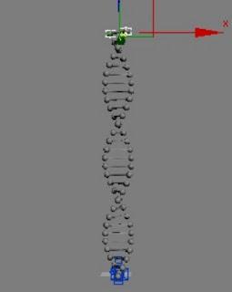 Cara Membuat Rangkaian DNA di 3DS Max