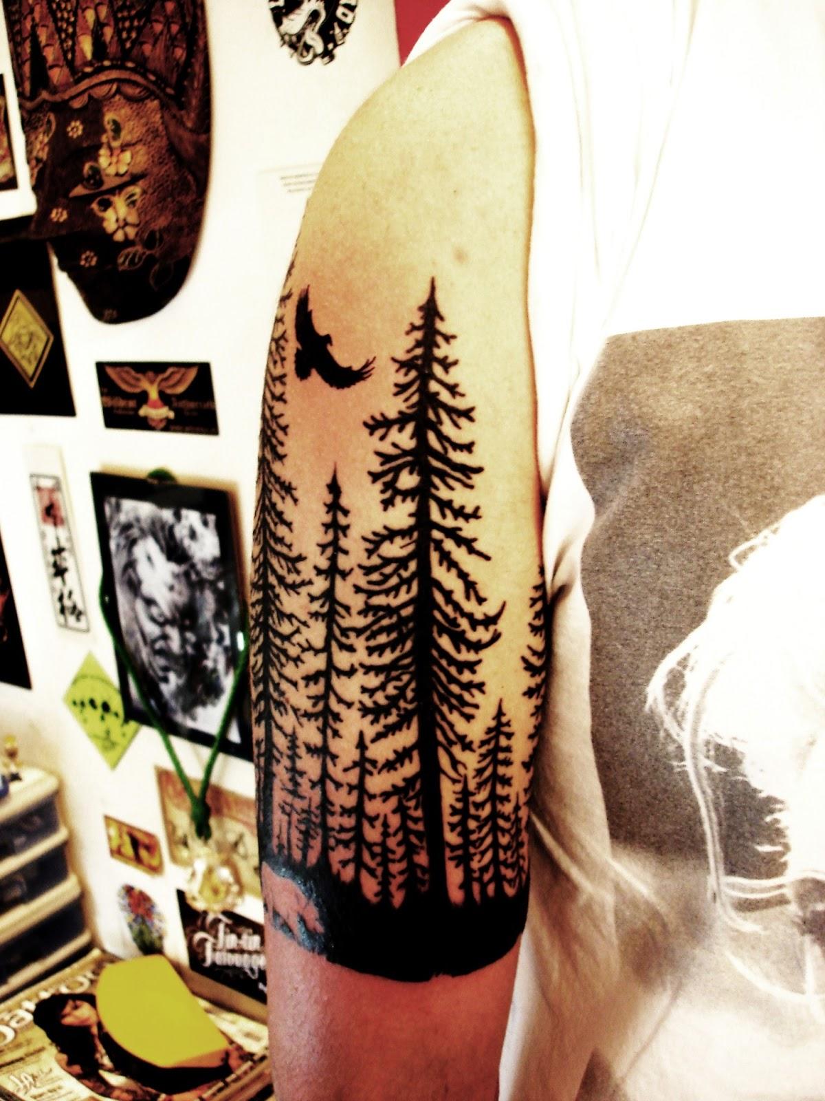Toop Tattoo Bosque Tattoo Alicante Tatuaje
