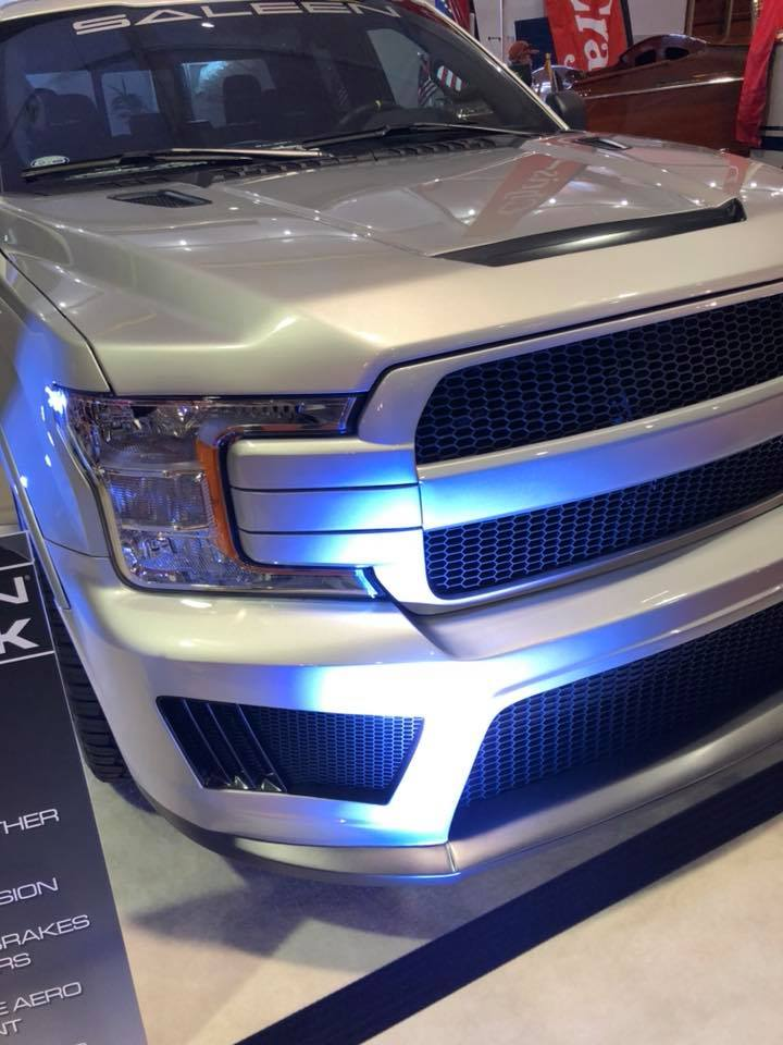 supercharged saleen sport truck introduced   hp