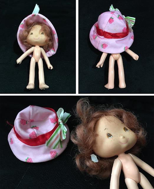 boneca moranguinho antes