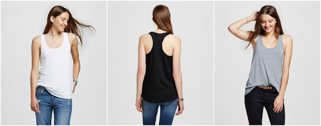 Mossimo Racerback Tank Tops from Target for only $6 (reg $9)