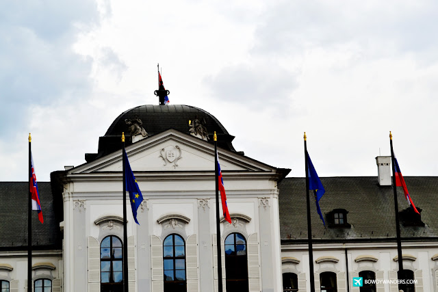 bowdywanders.com Singapore Travel Blog Philippines Photo :: Slovakia :: I Photographed Slovakia's Presidential Palace And It Looks Historical