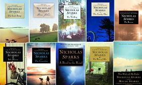 Novelas de Nicholas Sparks