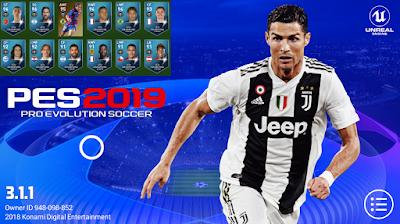 pes 2019 mobile champions league patch download