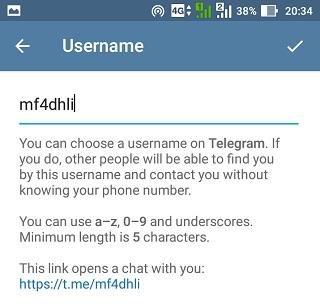 Cara Ganti Username Di Telegram
