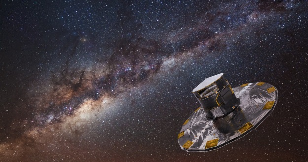 Gaia spacecraft. Credit: ESA